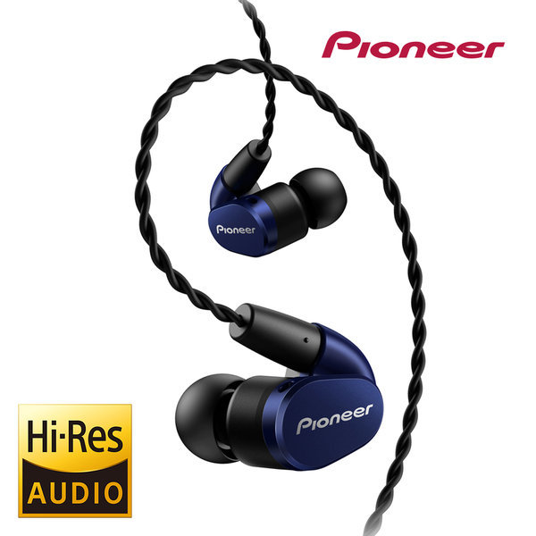 SE-CH5T 모니터링 이어폰 Hi-Res 밸런스드케이블 블루 상품이미지