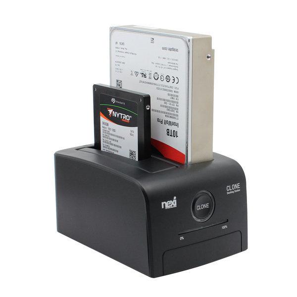 NX-608U30B USB3.0 2베이 하드 도킹스테이션 NX775 상품이미지