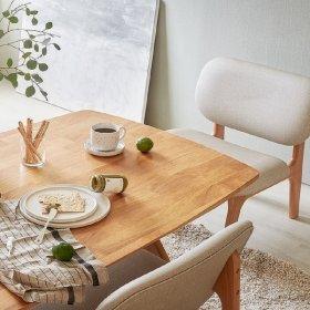 포레 릴렉스 4인 식탁(의자미포함)_DIY
