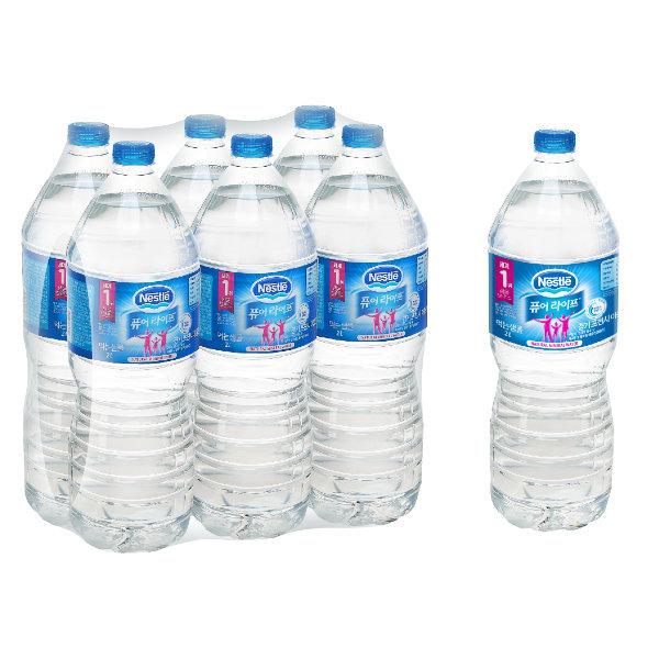 본사공식 네슬레 퓨어라이프 생수 2Lx12팩 무료배송 상품이미지