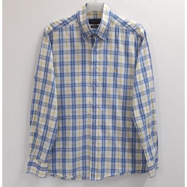 루이까또즈 체크 면 셔츠 남방 100/중고 상품이미지