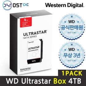 공식판매원 WD 3.5 ULTRASTAR SATA Series 4TB 1PACK