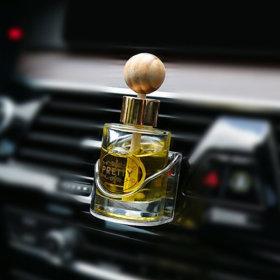 프리티 송풍구 디퓨져 방향제차량용 레몬향/차향수