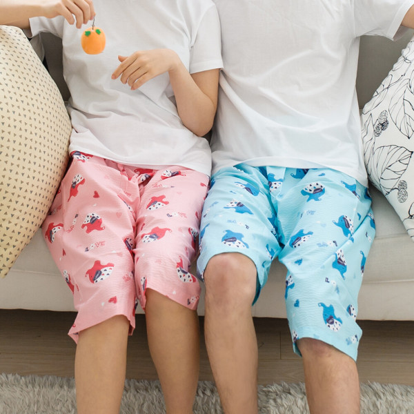 수면 기모 극세사 밍크 커플 파자마 잠옷 특면 홈웨어 상품이미지