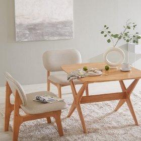 포레 릴렉스 2인 식탁세트(의자2포함)_DIY