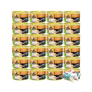 쉬바 캔 7세이상 촉촉한 닭가슴살 85gx24개