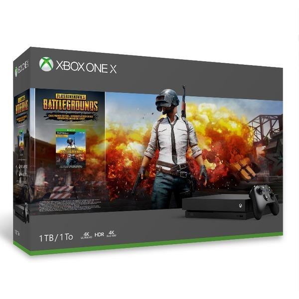 Xbox One X 1TB 플레이어언노운스 배틀그라운드 번들 상품이미지