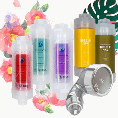 H201 Vitamin Shower Filter Rust Water Removal Chlorine Removal