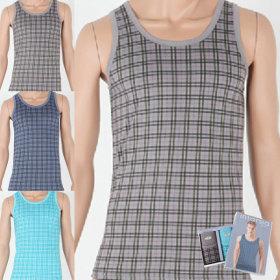 남성조끼런닝 3매세트 남자속옷 나시 민소매 이너웨어