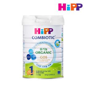 힙분유 무전분 HiPP 유기농 콤비오틱 1단계 800g X 1캔