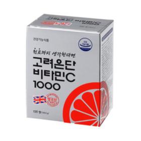 고려은단 비타민C 1000 120정 건강기능식품