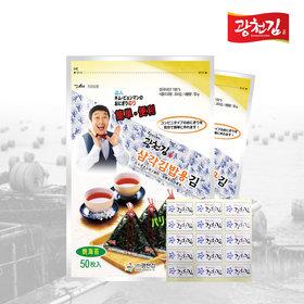달인 김병만의 삼각김밥김 100매(무조미)