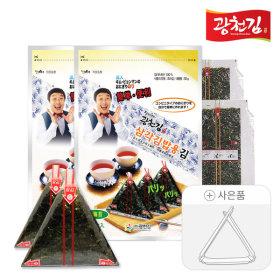 달인 김병만의 삼각김밥김 100매(무조미)+삼각틀