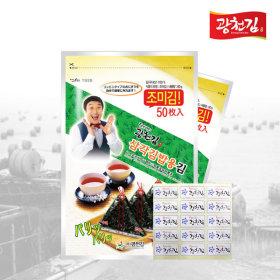 달인 김병만의 삼각김밥김 100매(조미)