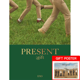 (화보집/단독특전포스터) 엑소(EXO) - PRESENT ; gift