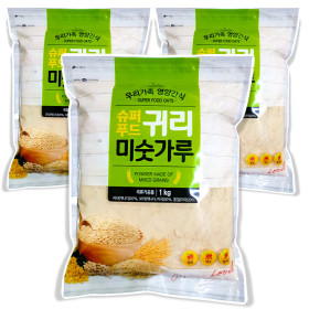 슈퍼푸드 귀리 미숫가루 선식 1kgx3개 20곡 :
