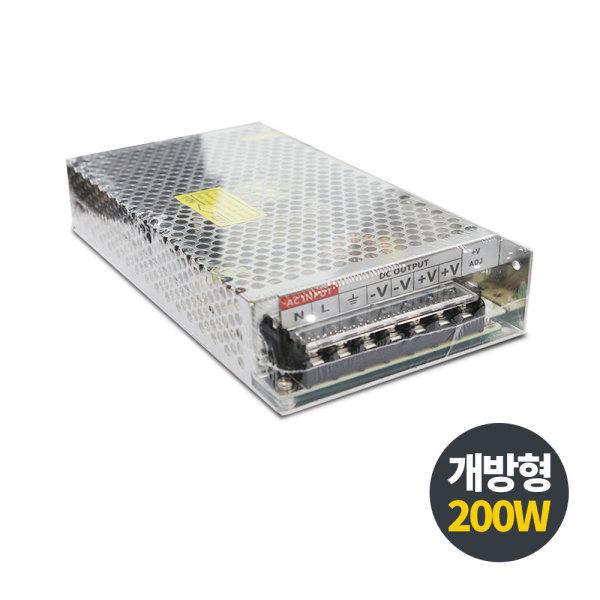 12V LED용 / 비방수 개방형 200W SMPS 상품이미지