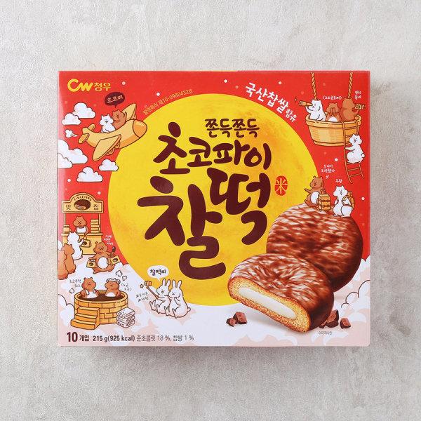 (1+1)청우식품 청우 초코파이찰떡 215G 상품이미지