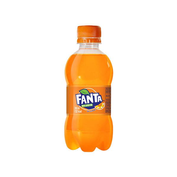 (현대Hmall)코카콜라 환타 오렌지 300ml x 24병 상품이미지