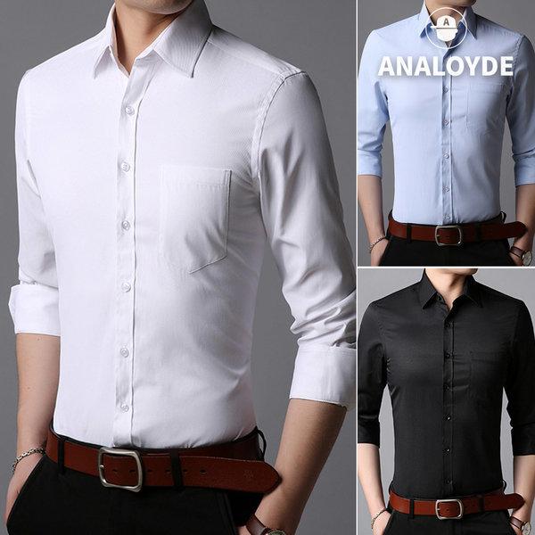 남성셔츠 남자남방 빅사이즈 정장 와이셔츠 포켓 상품이미지