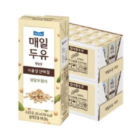 매일두유 99.89 190mL  48팩+민현 포토카드 2장