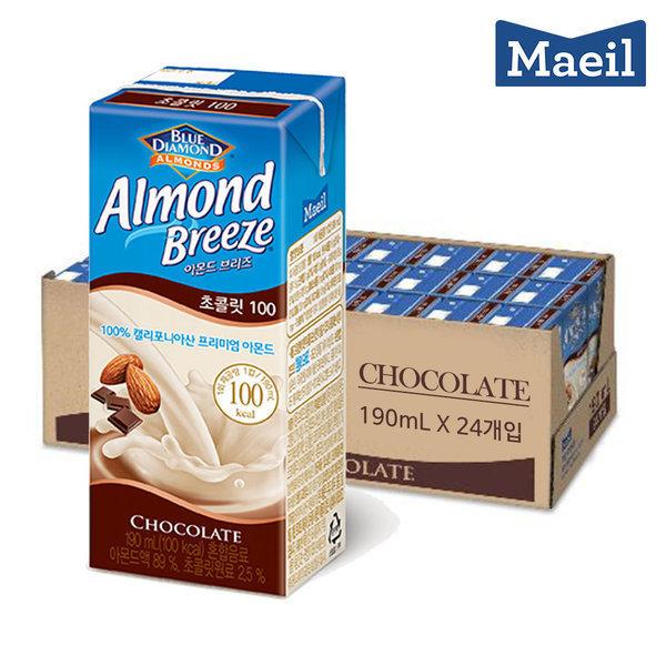 아몬드 브리즈 초콜릿 190ML 24팩 상품이미지