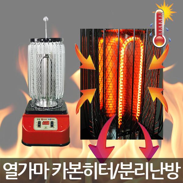 대성정밀/HNC 2U-3000W/열가마/카본히터/전기난로 상품이미지