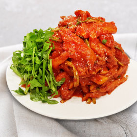 새콤달콤 홍어무침/감칠맛 삭힌 홍어무침:1kg  홍어회
