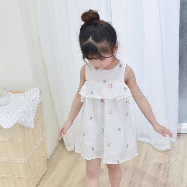 벚꽃원피스 아동복 아기 원피스 여아 옷 북유럽 유아 상품이미지