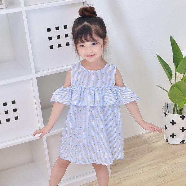 숄더프릴원피스 아동복 아기 원피스 여아 옷 북유럽 상품이미지