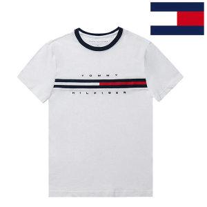 타미힐피거 반팔 티셔츠 시그니처 남녀공용 시즌 OFF