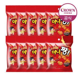 미나쨩 매콤간장 치킨맛 60g 10봉
