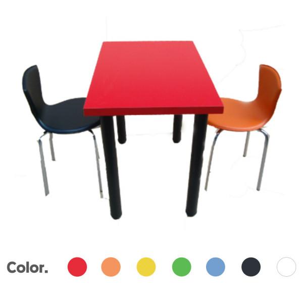 깜찍칼라탁자/업소용/분식/식당/미용실/매장/휴게실/ 상품이미지