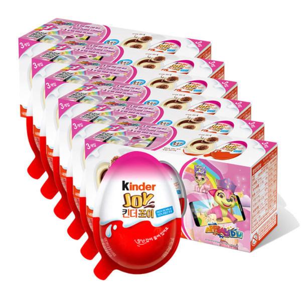 킨더조이 걸 T3   6개 (총 18입) /핑크장난감 상품이미지