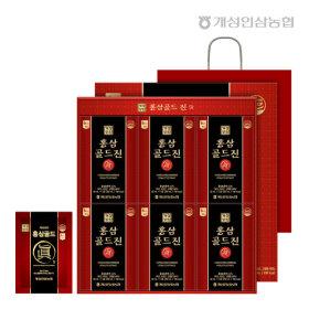 개성상인 골드진 30포 x 2박스 (총 60포) / 6년근홍삼