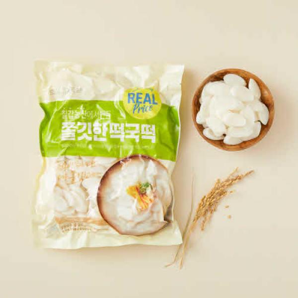 리얼 쫄깃한 떡국떡 1.5kg 상품이미지