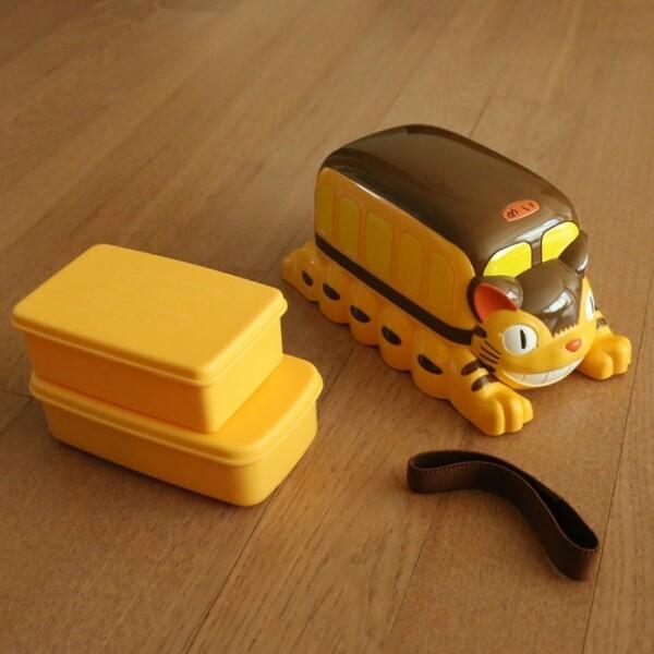토토로 고양이버스 2단 밴드 도시락 상품이미지