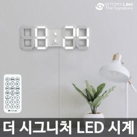 3D LED 대형 벽시계 벽걸이 무소음 인테리어 전자시계