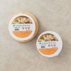 강릉초당두부 국산 청국장 200g