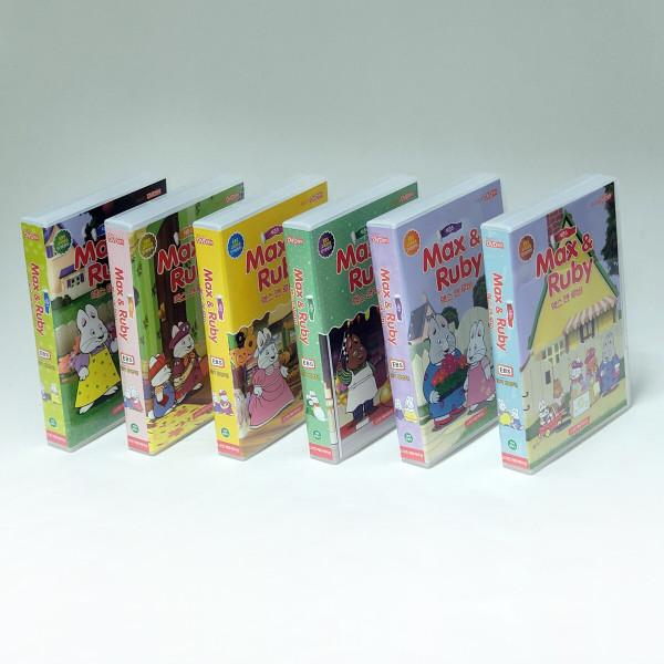 (도치맘) Max and Ruby 맥스 앤 루비 DVD 시즌1~6 풀세트 + 사은품 DVD 선택구매 상품이미지