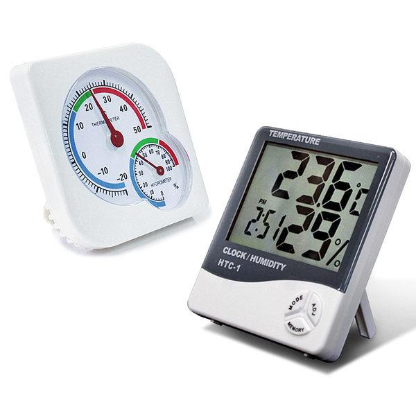 온습도계 실내공기관리/HTC/스노우맨/온도계/습도계 상품이미지