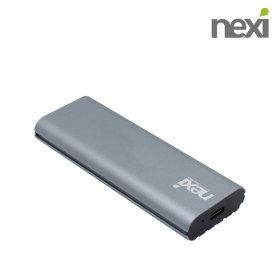USB3.1 C타입 /NVMe M.2 SSD 외장 하드 케이스 NX698