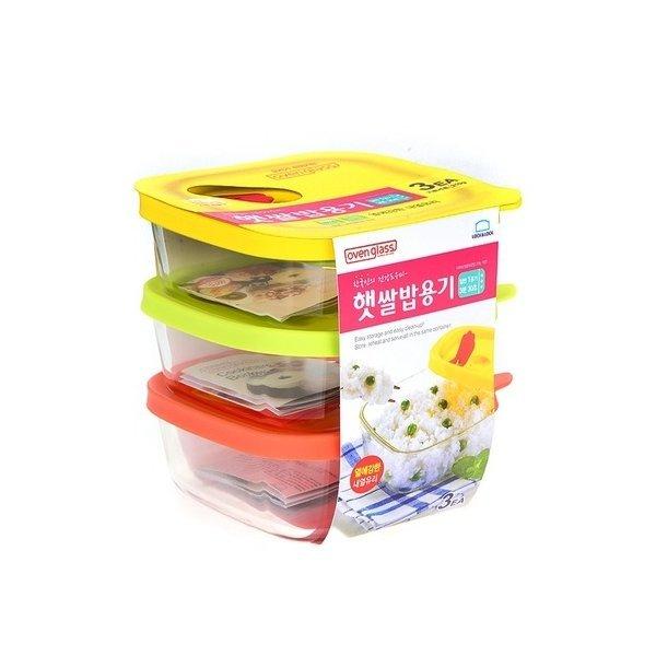 락앤락 햇쌀밥용기 밥용기 밥보관용기 320ml 3개1세트 상품이미지