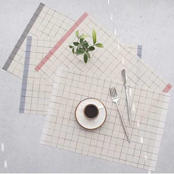 체크 테이블 식탁매트 - 4color 상품이미지