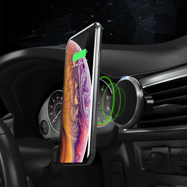 AFFIXM 나노패드 고속무선충전 차량용핸드폰거치대 상품이미지