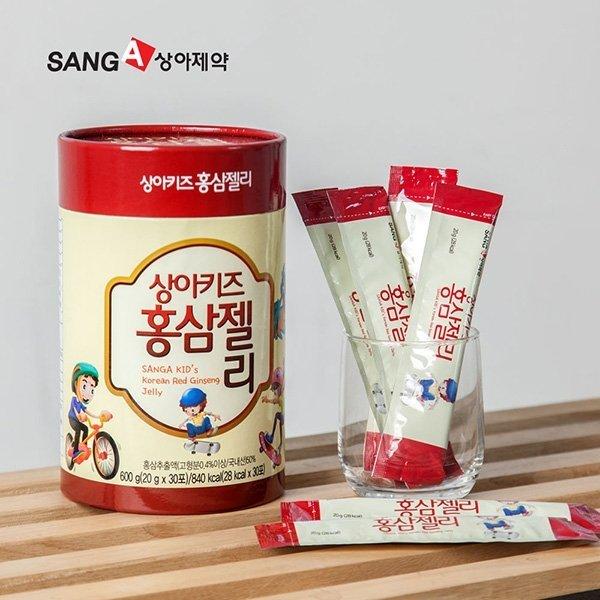 상아제약 상아키즈 홍삼젤리 (30포/1개월분) 상품이미지