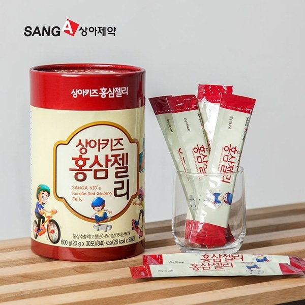 상아제약 상아키즈 홍삼젤리 (90포/3개월분) 상품이미지