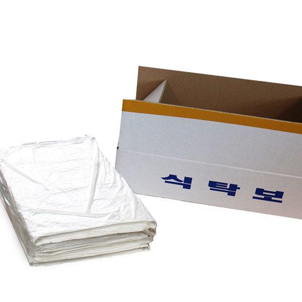 일회용 식탁보 50매/비닐 업소용 밥상보 식탁커버 상품이미지