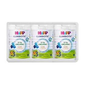 힙분유 무전분 HiPP 유기농 콤비오틱 3단계 800g X 3캔
