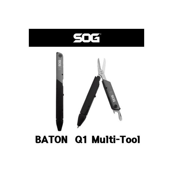 SOG 멀티툴 Baton Q1 Multi Tool 펜타입 멀티툴 상품이미지